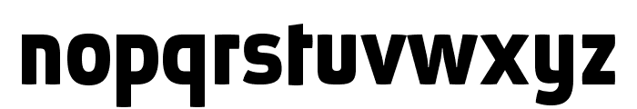 AbsolutPro-Bold Font LOWERCASE