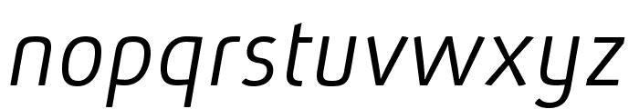 AbsolutPro-LightIt Font LOWERCASE