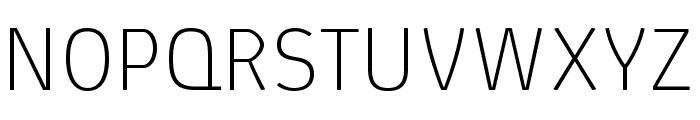 AbsolutPro-Thin Font UPPERCASE