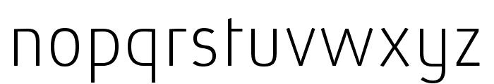 AbsolutPro-Thin Font LOWERCASE