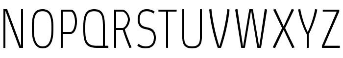 AbsolutProCond-Thin Font UPPERCASE