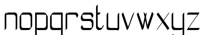 Absolutamente Rou St Font LOWERCASE