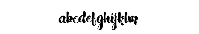 Absolute Pink - Personal Use Font LOWERCASE