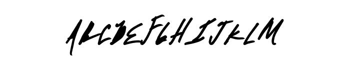 AbsoluteMoney Font UPPERCASE