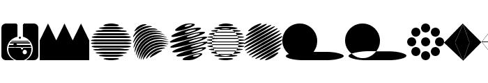 AbstractConcretLogo Font UPPERCASE