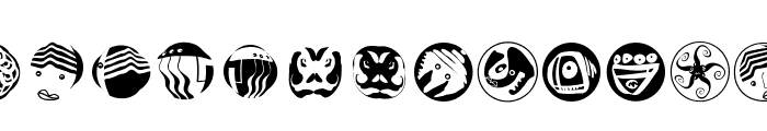 AbstractFaces Font UPPERCASE