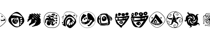 AbstractFaces Font LOWERCASE