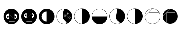 AbstractToConcrete Font OTHER CHARS