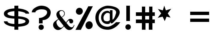Abtecia Basic Sans Serif Font Font OTHER CHARS