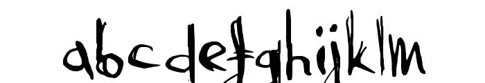 AbysmalGaze Font LOWERCASE