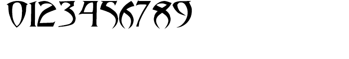 Abaddon Regular Font OTHER CHARS