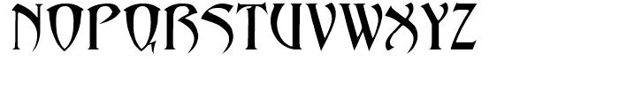Abaddon Regular Font UPPERCASE