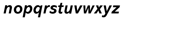 Abadi Bold Italic Font LOWERCASE