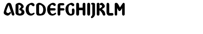 Abbey Medium Font UPPERCASE