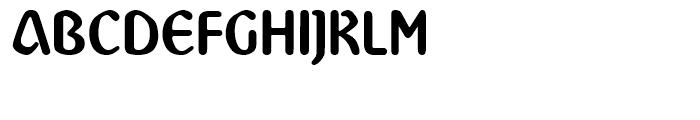 Abbey Regular Font UPPERCASE