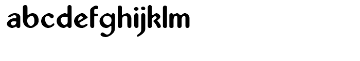 Abbey Regular Font LOWERCASE