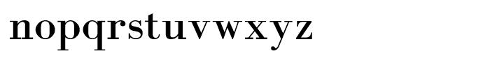 Abetka Bold Font LOWERCASE