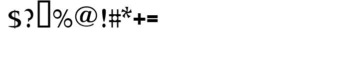 Abetka Medium Font OTHER CHARS