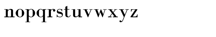 Abetka Medium Font LOWERCASE
