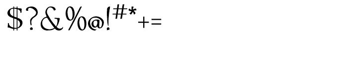 Ablati Regular Font OTHER CHARS