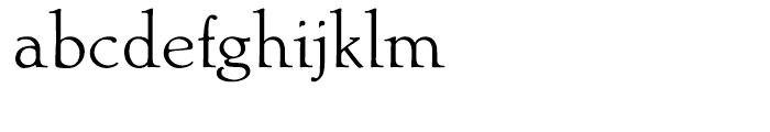Ablati Regular Font LOWERCASE