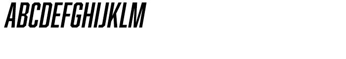 Abolition Oblique Font UPPERCASE