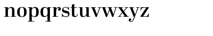 Abril Display SemiBold Font LOWERCASE