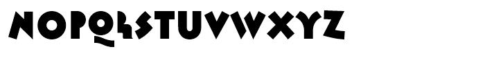 Abstrak BF Regular Font LOWERCASE
