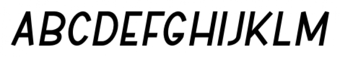 ABTS Aviator Bold Italic Font LOWERCASE