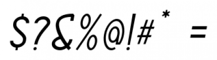 ABTS Aviator Italic Font OTHER CHARS