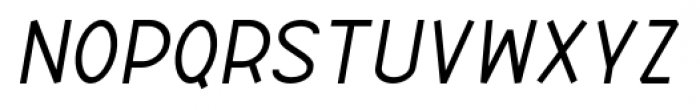 ABTS Aviator Italic Font LOWERCASE