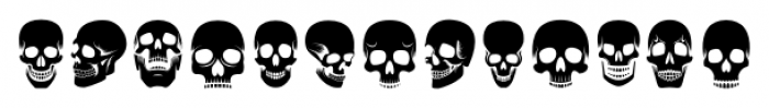 ABTS Day of the Dead Regular Font LOWERCASE