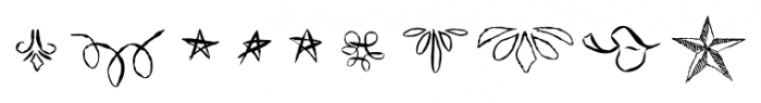 ABTS Feather Pen Regular Font OTHER CHARS