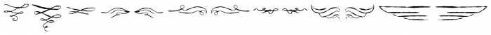 ABTS Feather Pen Regular Font UPPERCASE
