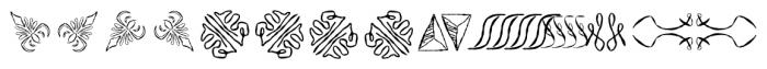ABTS Feather Pen Regular Font LOWERCASE