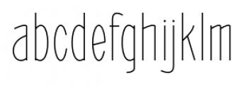 ABTS Oklahoma Light Font LOWERCASE