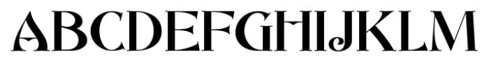 Abbey Road NF Regular Font UPPERCASE
