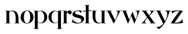 Abbey Road NF Regular Font LOWERCASE