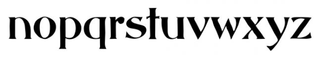 Abbott Old Style Regular Font LOWERCASE