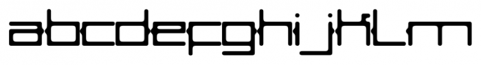 Abix Regular Font LOWERCASE