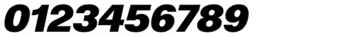 ABC Normal Super Oblique Font OTHER CHARS