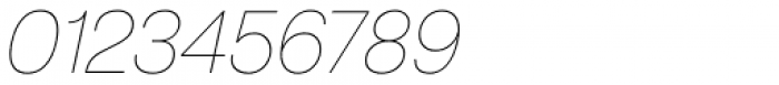ABC Normal White Oblique Font OTHER CHARS