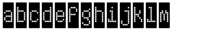 ABS 10 Font LOWERCASE