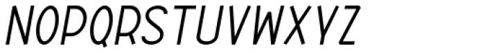 ABTS Aviator Italic Font UPPERCASE