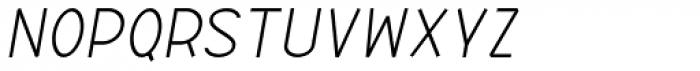 ABTS Aviator Light Italic Font LOWERCASE