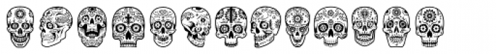 ABTS Day of the Dead Font UPPERCASE