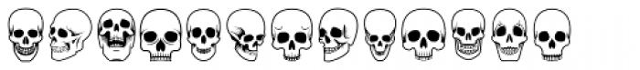 ABTS Day of the Dead Font LOWERCASE