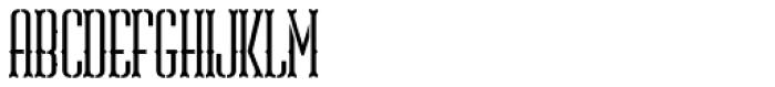 ABTS Gunsmoke Font UPPERCASE