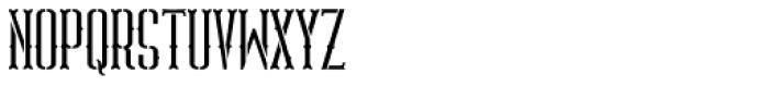 ABTS Gunsmoke Font LOWERCASE