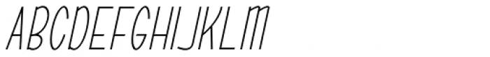 ABTS Oklahoma Italic Font UPPERCASE